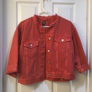 Gap Bell Sleeve Icon Denim Jacket